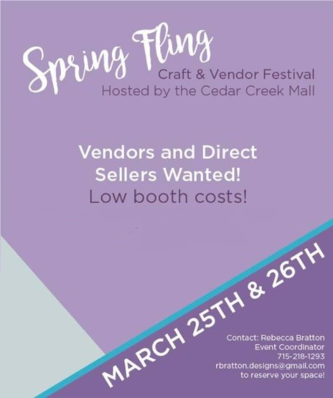 2017 Spring Fling Craft Show Call for Vendors